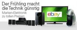 """eBay Aktion """"Der Frühling macht die Technik günstig"""" mit teilweise guten Angeboten"""