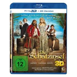 Die Schatzinsel 3D (inkl. 2D Version) [Blu-ray 3D] für 3,49€ inkl. Versand + 10€ Fashion Gutschein gratis @Amazon