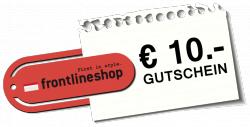 Im Frontlineshop 50% Rabatt im Sale und 10€ Newsletter Gutschein