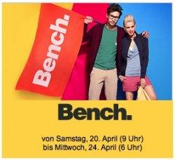 Großer Bench-Sale ab Sa um 9 Uhr @Vente Privee