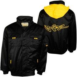 Hoodboyz Logo Herren Übergangsjacke zum Preis von 22,90 EUR in schwarz/gelb