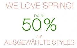 Im TOM TAILOR Onlineshop bis 50% Frühlingsrabatt und zusätzlich 10% Gutschein