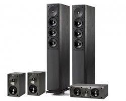 Jamo S 608 HCS 3 Black Ash 5.0 Lautsprechersystem für nur 539,10€ mit Gutschein @MeinPaket [Idealo: 750€]