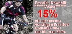 jehlebikes.de: 15% auf alle vorrätigen FR/DH-Bikes + versandkostenfrei!!!