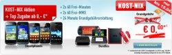 KOST-NIX Aktion bei handybude.de: DuoVertrag abschließen und kostenloses Handy erhalten