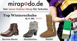 Mirapodo 10€ und 6€ Gutschein für die Welt der Schuhe