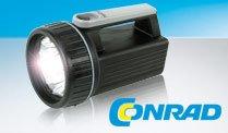 Mission Technik bei Conrad z.B. LED Handscheinwerfer für nur 0,90 €