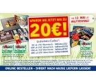 Mit Gutscheincodes anlässlich des Muttertages bis zu 20€ sparen bei lidl-fotos.de
