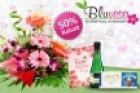 Muttertags-Blumenstrauß mit Gußkarte + Lindt-Schokolade + Piccolo für 12,50€ + 4,95 Versand @groupon