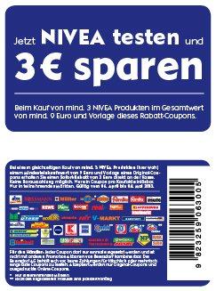 Nivea 3€ Spar-Coupon | Bsp. Nivea-Spray 1,69€ – Beim kauf von 6Stk. 1,19€ pro Deo bei rossmann