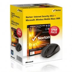 Norton Internet Security mit Microsoft Wireless Mobile Mouse für€ 15€ + Versand