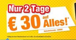 Nur 2 Tage Sonderangebote bei Medion, z.B. 30 Euro Rabatt ab 399 MBW