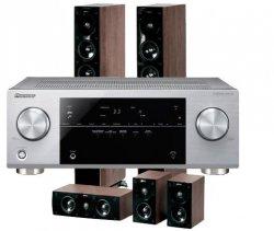 Pioneer VSX-422-S AV-Receiver + Jamo S 606HCS3 5.1 Heimkinosystem für 549€ @redcoon.de