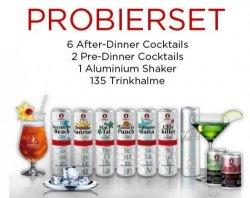 Probierset 8 Cocktails, Alu-Shaker, 135 Halme mit Gutschein 14,99€ statt 28€ @conelly-cocktails.com
