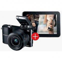 Samsung NX1000 Systemkamera SW Kit + 20/50mm Objektiv für 349€ und ein Samsung Galaxy Tab 2 7.0 WiFi gratis dazu @conrad.de