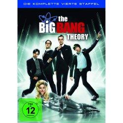 The Big Bang Theory – Die komplette vierte Staffel (3 DVDs) für 9,97 + 10 € Fashion-Gutschein gratis dazu @Amazon