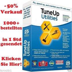 TuneUp Utilities 2013  Vollversion 3 Lizenzen für 9,85€ als Download @eBay