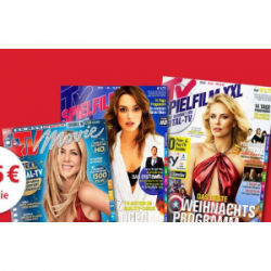 TV Movie, Spielfilm oder Spielfilm Digital XXL fast kostenlos dank 50€ Einkaufsgutschein