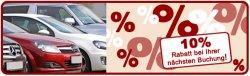 10% Rabatt auf Flughafenparkplatz-Buchung @Am-Flughafen.com
