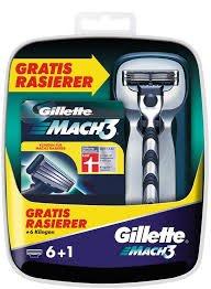 12  Gilette Mach3 Klingen inkl. 2x Mach3 Rasierer + Rasiererhalter + Probierset -zusammen für nur 23,90€ @Amazon.de