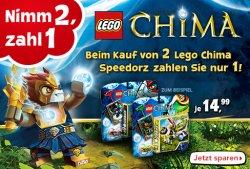 2 Lego Chima Speedorz kaufen nur 1 bezahlen! @Toys'Rus