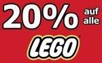 20% auf Alle Lego-Artikel im Markt @Real