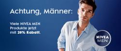 20% Rabatt bei Nivea Men Produkte ab 15€ Einkaufswert auf Amazon.de