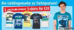 3 Jack & Jones Shirts für 20€, 2 KP85 Hoodies für 30€