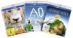 [3D – Blu-Ray] 3D-Family-Box (3 Filme) für nur 12,00€ statt 27,07€ @Amazon