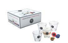 4  Latte Macchiato Gläser von Lavazza A Modo Mio für 10 € statt 30 € @Saturn