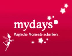 5 Euro Gutschein ohne Mindestbestellwert bei mydays.de