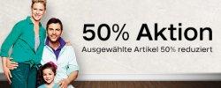 50% Rabatt auf ausgewählte Schuhe! (Herren, Frauen, Kinder) @Deichmann