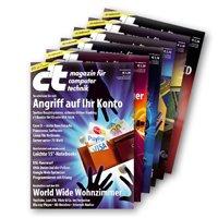 6 Ausgaben c't + 15€ Amazon Gutschein für nur 16,50€! @heise.de