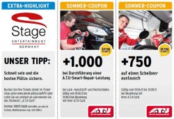 A.T.U-Card-Inhaber sparen bei den schönsten Musicals & Shows bis zu 35% Rabatt + weitere A.T.U Sommercoupons