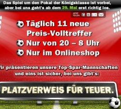 """Aktion """"Platzverweis für teuer"""": Täglich 11 neue Preis-Volltreffer bei Mediamarkt ab 29.05., 20 Uhr"""