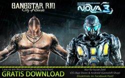 [Android & iOS] Gangstar Rio und N.O.V.A. 3 gratis