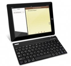 Anker Ultra Slim Bluetooth Tastaur/Case für iPad für 27,99 @Amazon