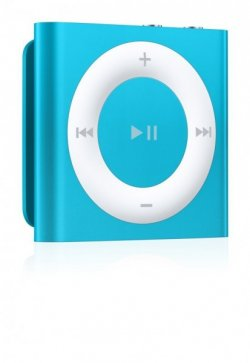 Apple iPod Shuffle (5. Generation) Blau für nur 33€ statt 49€ @comtech