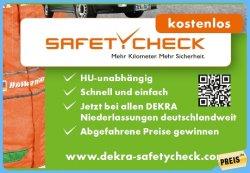 Bei DEKRA wieder ein kostenloser Auto-Safetycheck im Mai und Juni 2013