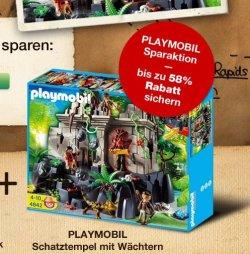 Bis 58% Rabatt auf das Playmobil-Sortiment  @galeria-Kaufhof