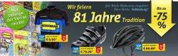 bis 75% Rabatt auf Fahrrad – Bekleidung und  Accessoires – ab 10€ Versandkostenfrei