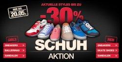 Bis zu 30% Rabatt auf Schuhe @planet-sports +5€ Rabatt möglich.