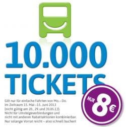 City2City [Fernbus] 10.000 Tickets für nur 8€ je Ticket