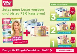 """Die Fernsehzeitschrift """"Funk Uhr"""" mit 17,80€ Gewinn !!! + Gratis 16 GB USB stick"""