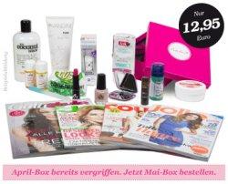 Die Mai Pink Box im Wert von 12,95 € gratis