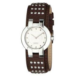 Esprit Damen Armbanduhr XS Analog Leder für 26,42€ statt 89,00€