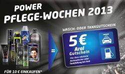 für 10€ Schwarzkopf-Produkte kaufen und 5 € Aral-Gutschein bekommen – rechnerisch also bis 50% Rabatt