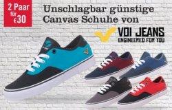 Für 30€ bekommt ihr 2 Paar original Voi Herrenjeans Herren Nirvania Canvas bei mandmdirect.de