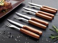 Für die Grillsaison! – Gratis 8-teiliges Steakbesteck bei Pearl nur EUR 4,90 Versandkosten
