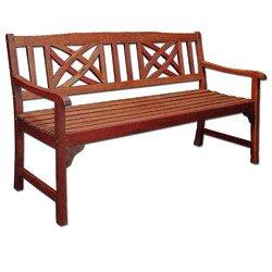 Gartenbank (Nebraska), 3-Sitzer für 59,00 €uro @Jawoll, Schnäppchen für Gartenfreunde